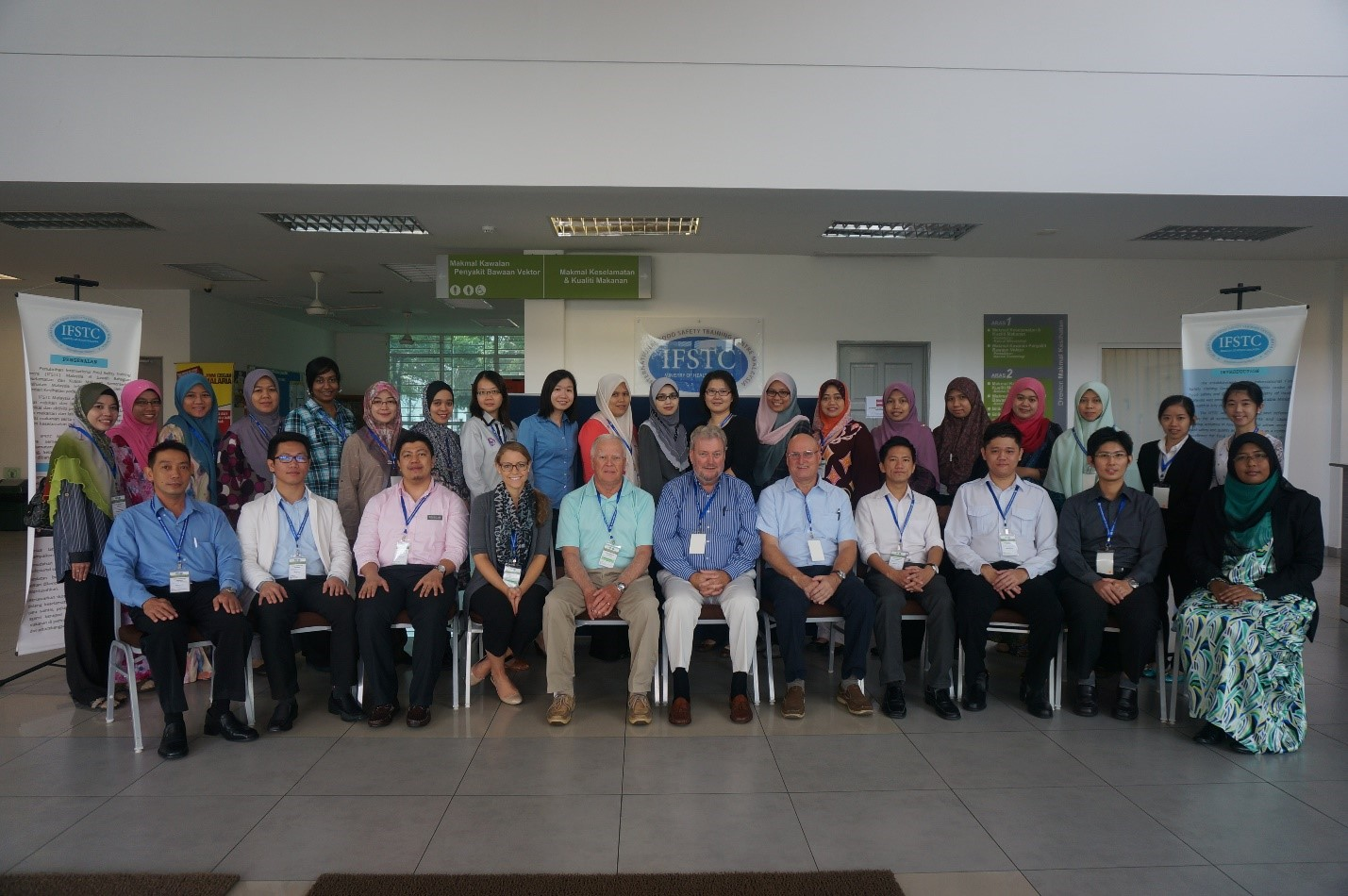 Participants in the Food Inspector Training in Malaysia in 2014.